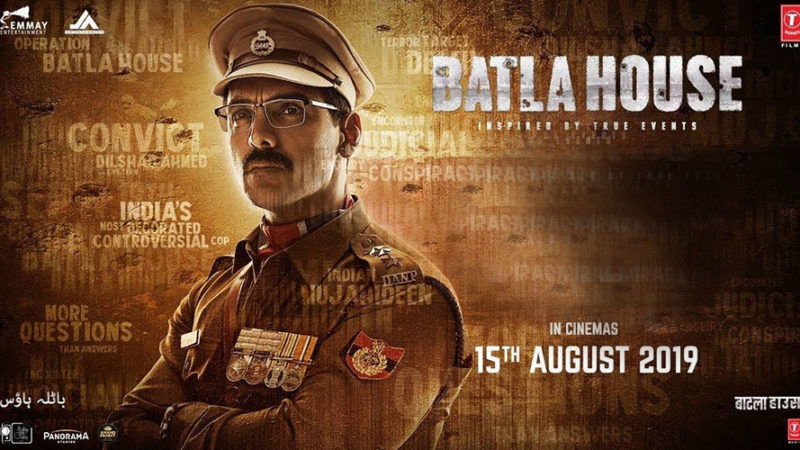 Batla House movie review: 'Batla House' is John Abraham's strong acting and excellent cinematography film