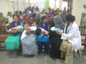 Doctors and nurses performed skit to create awareness about Breastfeeding