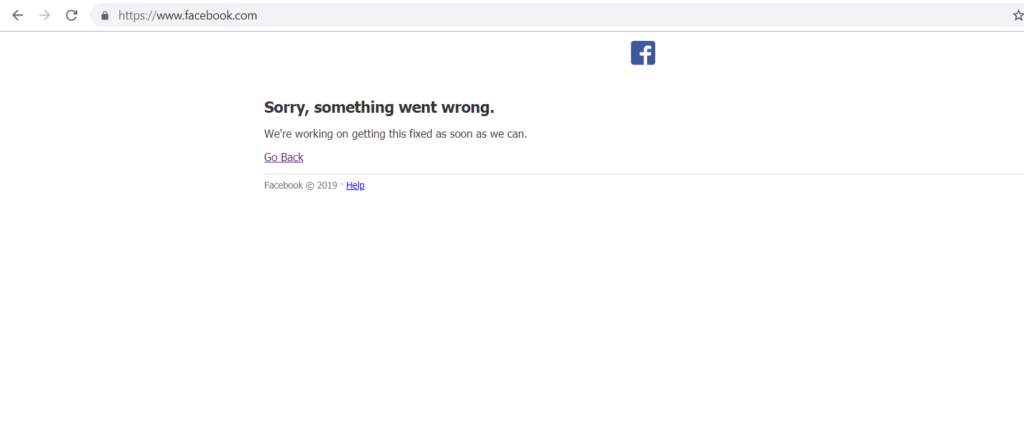 FACEBOOK / INSTAGRAM DOWN
