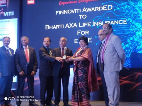 Bharti AXA life insurance wins Finnoviti 2020 award for technology excellence