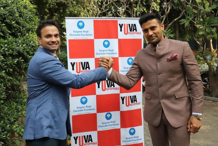 Wrestler Sangram Singh's foundation & NGO Yuva Unstoppable join hands to transform schools