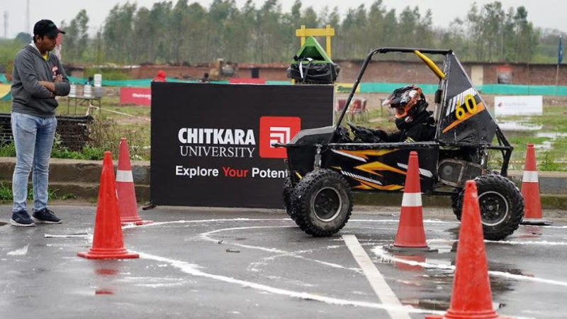 Chitkara University hosted Leg 2 of Mahindra BAJA SAEINDIA 2020, 13th edition