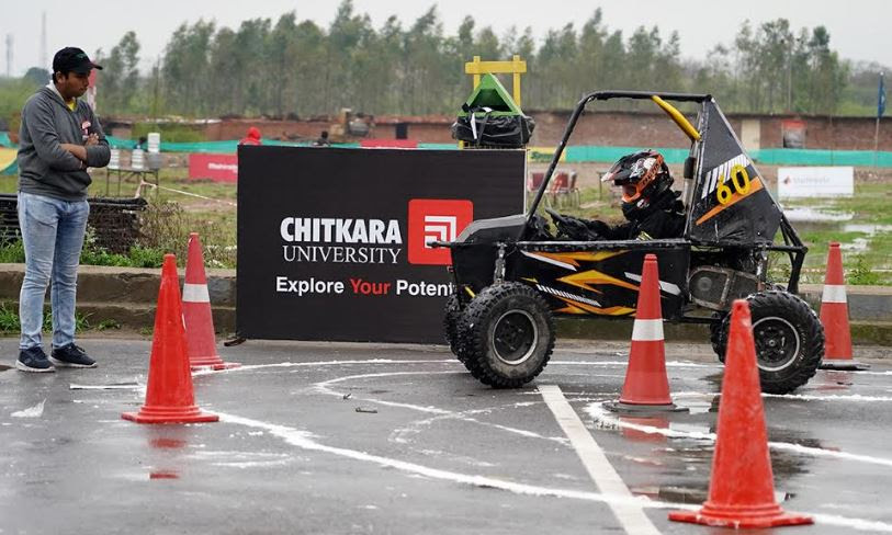 Chitkara University hosted Leg 2 of Mahindra BAJA SAEINDIA 2020, 13th edition
