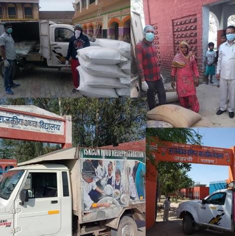 The Annamrita Foundation Supports Needy in COVID-19 Hard Times