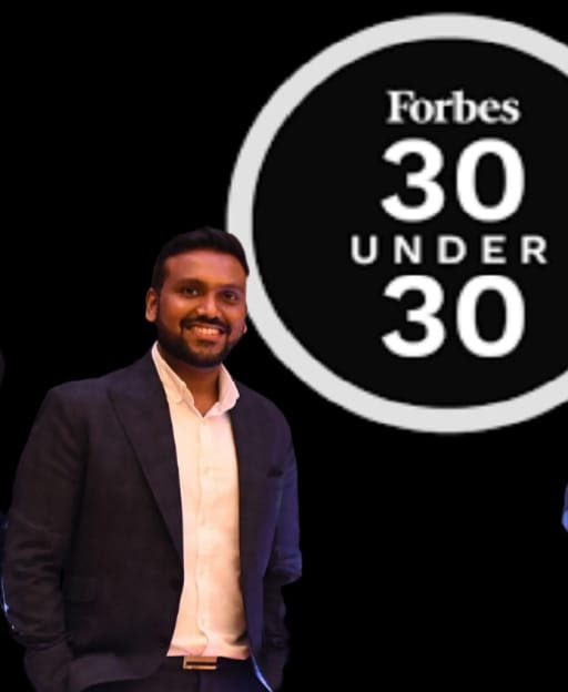 Rohit Gajbhiye Financepeer Founder Features in Forbes 30 Under 30 Asia List