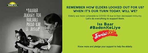 Tata Tea JaagoRe is Back with a New Cause – Iss Baar #BadonKeLiye JaagoRe