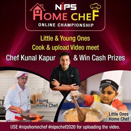 As People Stay Home, NIPS organizes an online culinary competition.