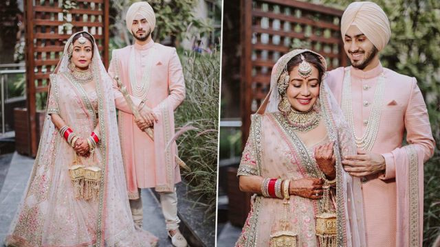 Neha Kakkar and Rohanpreet Reveal Got Their Dream Wedding Outfits As Gifts Here's Who Gave Them