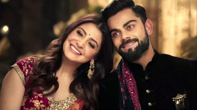 Anushka Sharma and Virat Kohli's third wedding anniversary