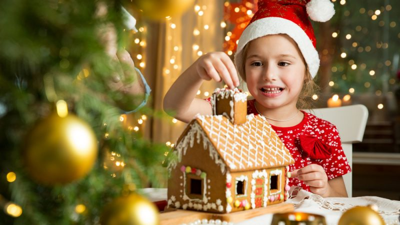 Gingerbread House can be easily made at home to celebrate Christmas
