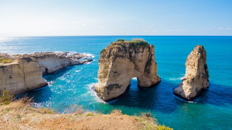 Here Are a Complete List of beaches in Lebanon