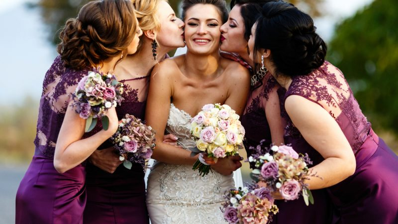 4 Best colors of outfit for all bridesmaids